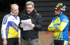 Tony Furby, James Spence and Andrew Stevenson