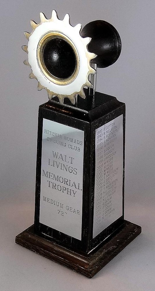 19. Walt Livings Medium Gear Trophy